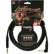 4.5m KLOTZ LAGPR0450 LaGrange Supreme Guitar Cable (Angle Jack)