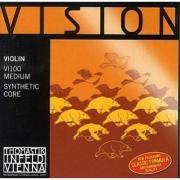 Струны для скрипки THOMASTIK Vision VI100 4/4 комплект.