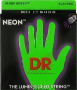 Dr Nge-9 - Neon Струны для электрогитар