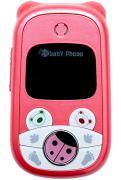 Телефон детский babyphone розовый
