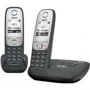 Телефон Gigaset Dect A415 AM DUO Black(база+2 трубки)