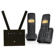 Комплект SHOPCARRY SIM 315-2 стационарный сотовый радио DECT телефон GSM/4G/3G WIFI и роутер