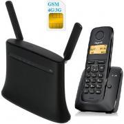 Комплект SHOPCARRY SIM 283-1 стационарный сотовый радио телефон DECT GSM 4G 3G