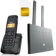 Комплект SHOPCARRY SIM 315-1 стационарный сотовый радио DECT телефон GSM/4G/3G WIFI и роутер универсальный