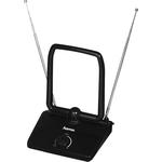 Антенна телевизионная HAMA 00121664 активная черный каб. 1.5м