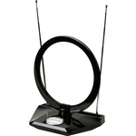 Комнатная антенна Kromax FLAT-07 black