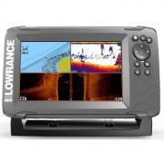 Эхолот-картплоттер Lowrance Hook2-7 TRIPLESHOT US COASTAL/ROW