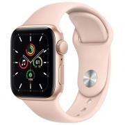 Умные часы Apple Watch SE GPS 40mm Aluminum Case with Sport Band (Золотой)