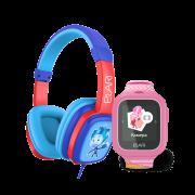 Детские наушники ELARI FixiTone + часы-телефон ELARI FixiTime Lite