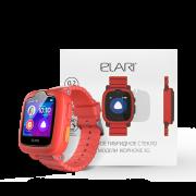 Детские часы-телефон ELARI KidPhone 3G + Защитное стекло
