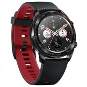Часы Honor Watch Magic (stainless steel, silicone strap) lava black