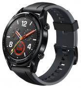 Смарт-часы Huawei Watch GT Black/Black (FTN-B19 St Bl)