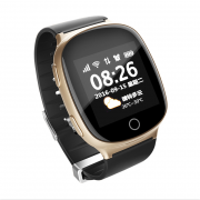 GPS часы Smart Baby Watch EW100S (золото)