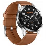 Умные часы Huawei GT 2 LTN-B19 46мм темно-коричневый