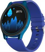Часы GSMIN WP7 c измерением давления и пульса с синим ремешком силикон (Синий)