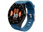 Умные часы GEOZON Titanium G-SM10BLKB черно-синие