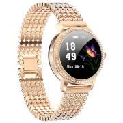 Смарт часы женские KingWear LW20 PRO (золотистый)