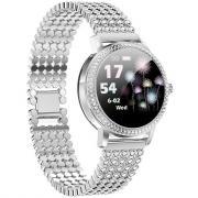 Смарт часы женские KingWear LW20 PRO (серебристый)