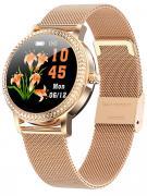 Смарт часы женские KingWear LW20 золотистые