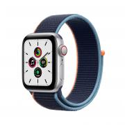 Apple Watch SE OLED Серебристый 4G GPS (спутниковый) MYEG2FD/A