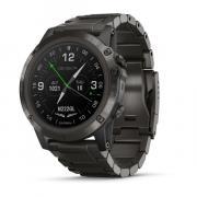 Авиационные часы Garmin D2 DELTA PX для пилотов (ремешок титан)
