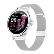 Смарт часы женские KingWear LW06 серебристые