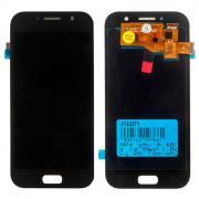 Дисплей в сборе с тачскрином (модуль) для Samsung Galaxy A5 (SM-A520F) черный (2017) OLED