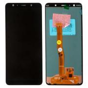 Дисплей в сборе с тачскрином (модуль) для Samsung Galaxy A7 (SM-A750F) черный (2018), оригинал