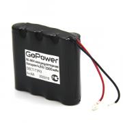 Аккумулятор для радиотелефонов GoPower T393 PC1 NI-MH