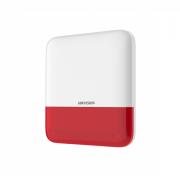 Беспроводной уличный оповещатель Hikvision DS-PS1-E-WE (Red Indicator)