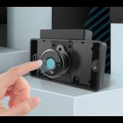 "Замок со сканером отпечатка пальца ""Fingerprint Lock with Fingerprint Technology"" (Черный)"