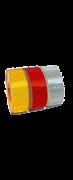 Лента светоотражающая ПРИЗМА наклейка красная 20 м