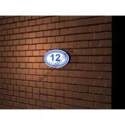 Световой знак с нумерацией здания / D21 (46х27 см)