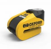 Замки противоугонные Замок на диск Quartz XA10 Alarm Disc Lock Yellow/Black