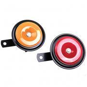 Сигнал звуковой дисковый SKYWAY 024 d=90 мм 12V 105dB металл 2 шт