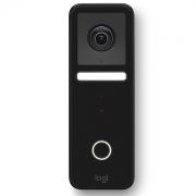 Умный дверной звонок Logitech Circle View Doorbell Black HomeKit Secure Video (961-000484)
