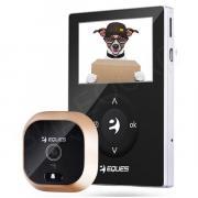 Видеоглазок Wi-Fi Eques R21P (серебро с черным)