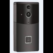 Водонепроницаемая беспроводная Wi-Fi камера В10 2 в 1 камера видеонаблюдения и дверной звонок (Черная)