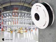 Панорамная IP Wi-Fi камера panoramic camera V380S, V380 2 mp Lemon Tree (Белый)