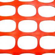 Аварийное ограждение, оранжевое, 160 г/м2, рулон 1.8*50 м
