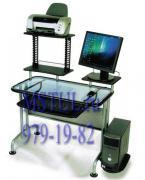 Tetchair Стол компьютерный WRX-07 Orispace стеклянный