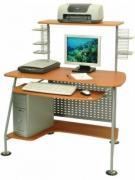 Стол компьютерный БЮРОКРАТ B-DL-E06LCD бук