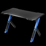 Геймерский стол Sharkoon Shark Skiller SGD1 чёрно-синий (140 x 70 x 78 см, дерево, сталь)