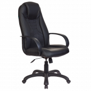 Кресло игровое Бюрократ VIKING-8/BLACK черный искусственная кожа