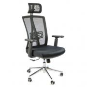 Компьютерное кресло Calviano Fabio для руководителя, обивка: текстиль, цвет: черный