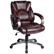 Офисное кресло BRABIX Eldorado EX-504, обивка экокожа - Коричневое