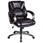 Офисное кресло BRABIX Eldorado EX-504, обивка экокожа - Черное