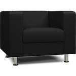 Кресло Шарм-Дизайн Бит черный офисное