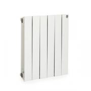 Секционный биметаллический радиатор Royal Thermo Piano Forte 500, Bianco Traffico, секций 10
