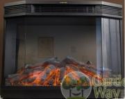 Очаг электрокамина Garden way Volcano 3D с д/у